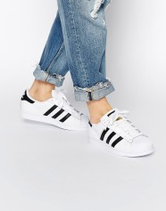 Adidas Originals Superstairs, Black and White